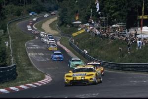 Peter Zakowski, Robert Lechner, Pedro Lamy - Chrysler Viper GTS-R, 24h Nürburgring 2002