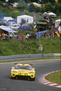 Marc Duez, Peter Zakowski, Hans-Jürgen Tiemann, Klaus Ludwig - Chrysler Viper GTS-R, 24h Nürburgring 1999