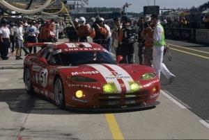 Karl Wendlinger, Dominique Dupuy, Olivier Beretta - Chrysler Viper GTS-R, 24h Le Mans 2000